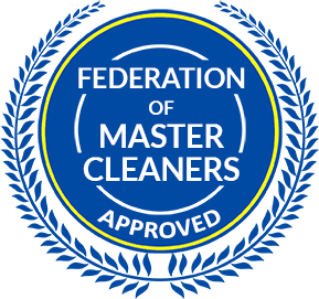We are approved by the Federation of Master Cleaners!